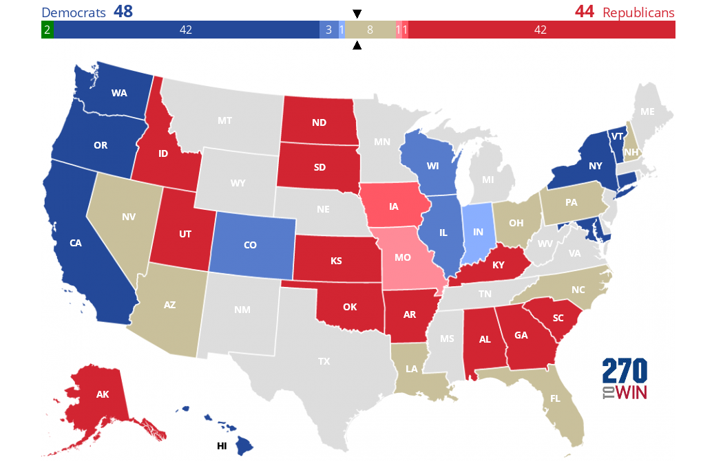 270 to win electoral college interactive map 2016 presidential election