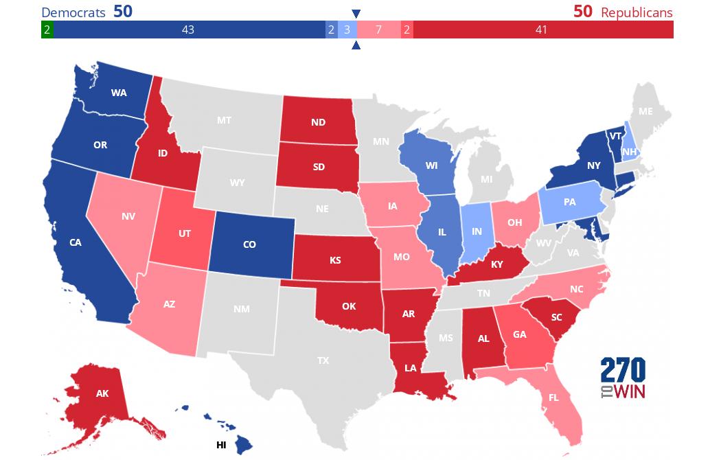 2016 senate election interactive map. Black Bedroom Furniture Sets. Home Design Ideas