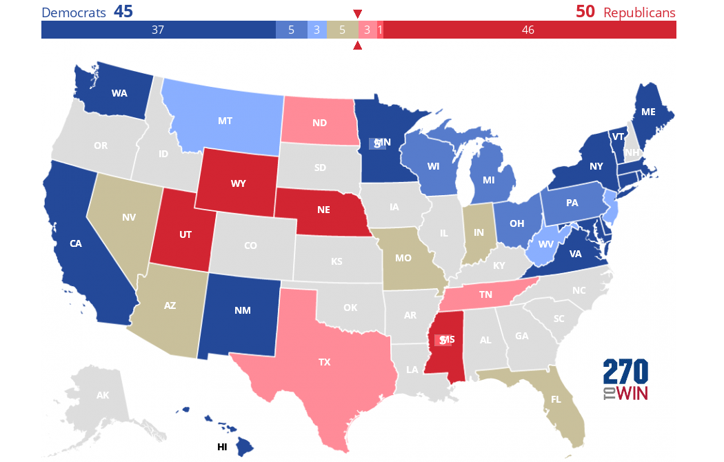 Politico Predicts: Senate Ratings