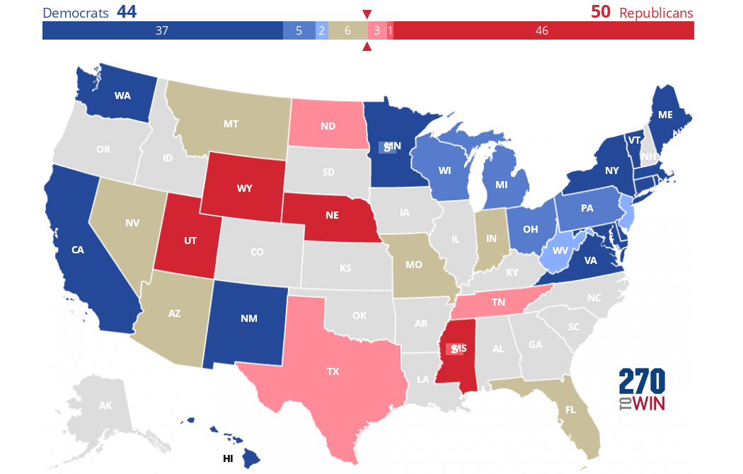 2018 Senate Elections: Consensus Forecast