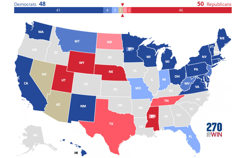 FiveThirtyEight Senate Forecast