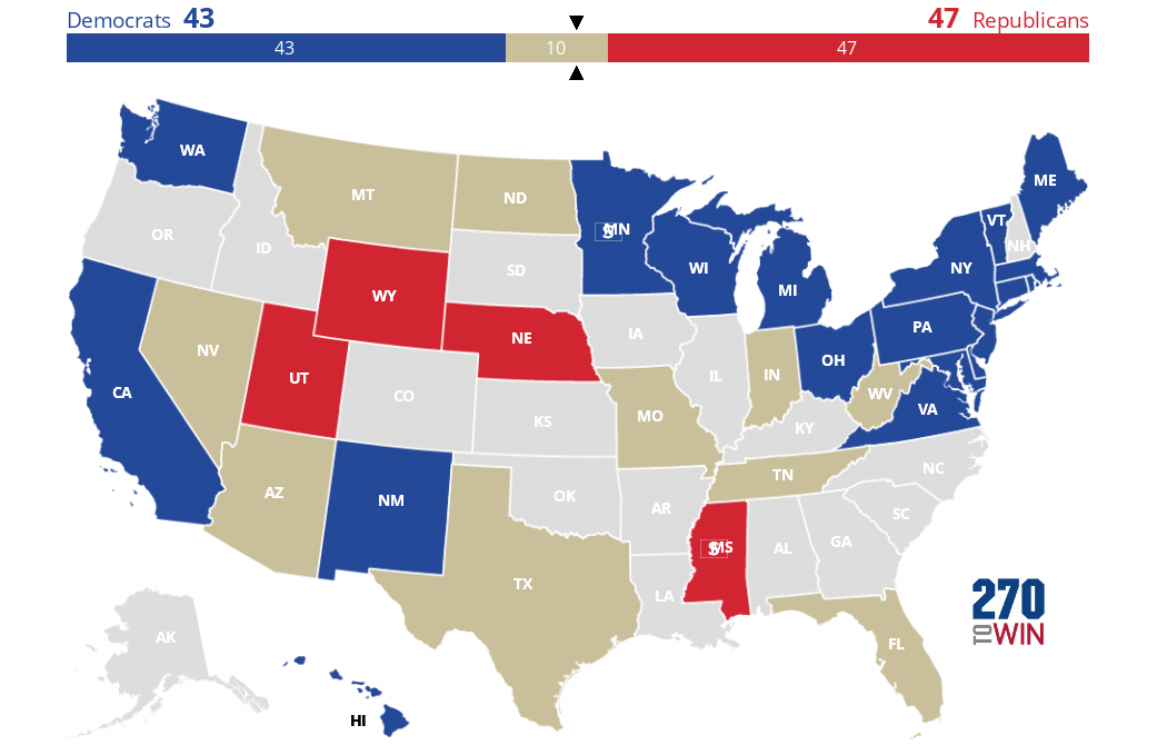 2018 Senate Election Forecast Maps