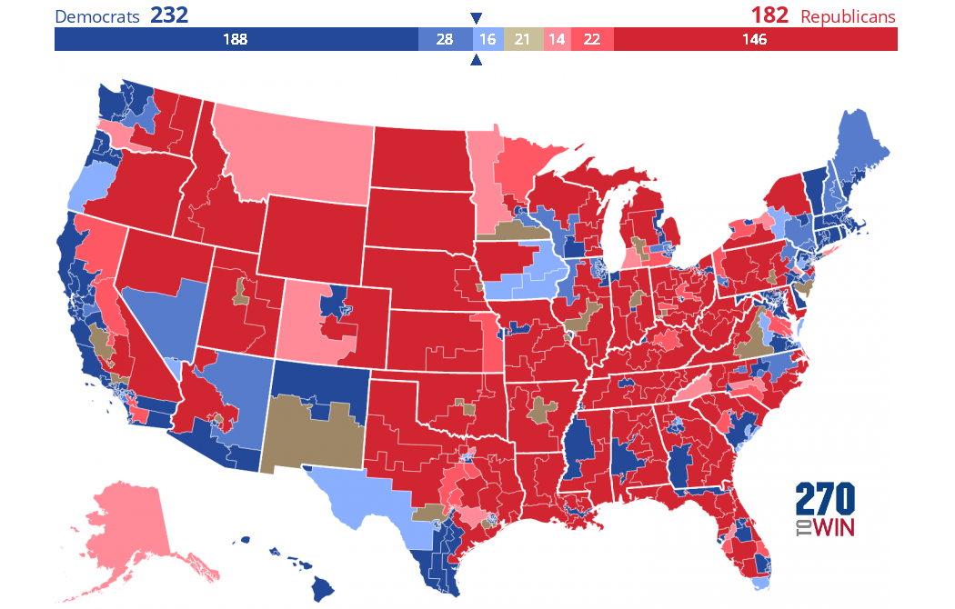 2020 House Elections: Consensus Forecast