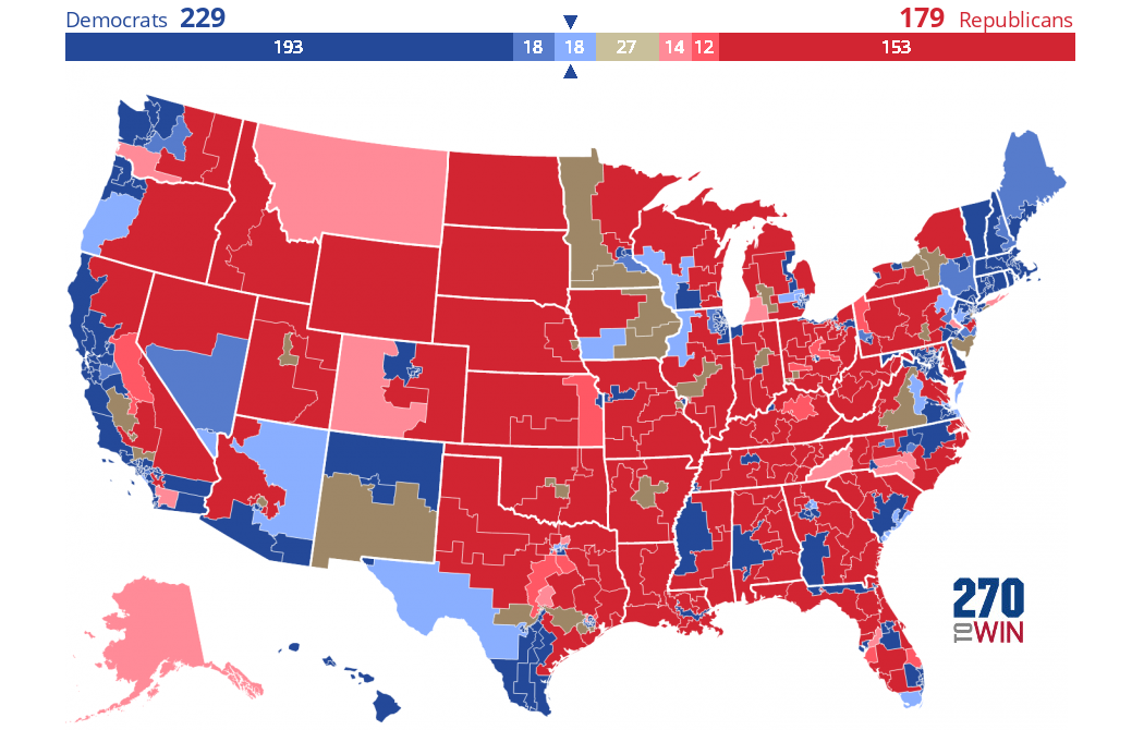Cook Political Report 2020 House Ratings
