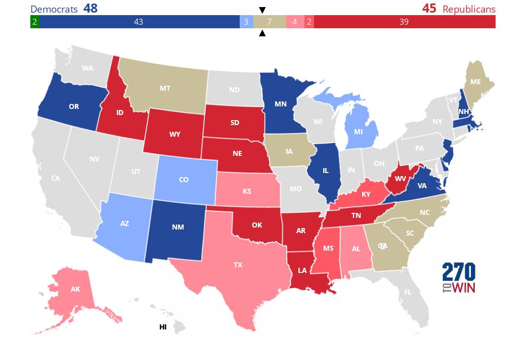 Image of: Cook Political Report 2020 Senate Race Ratings