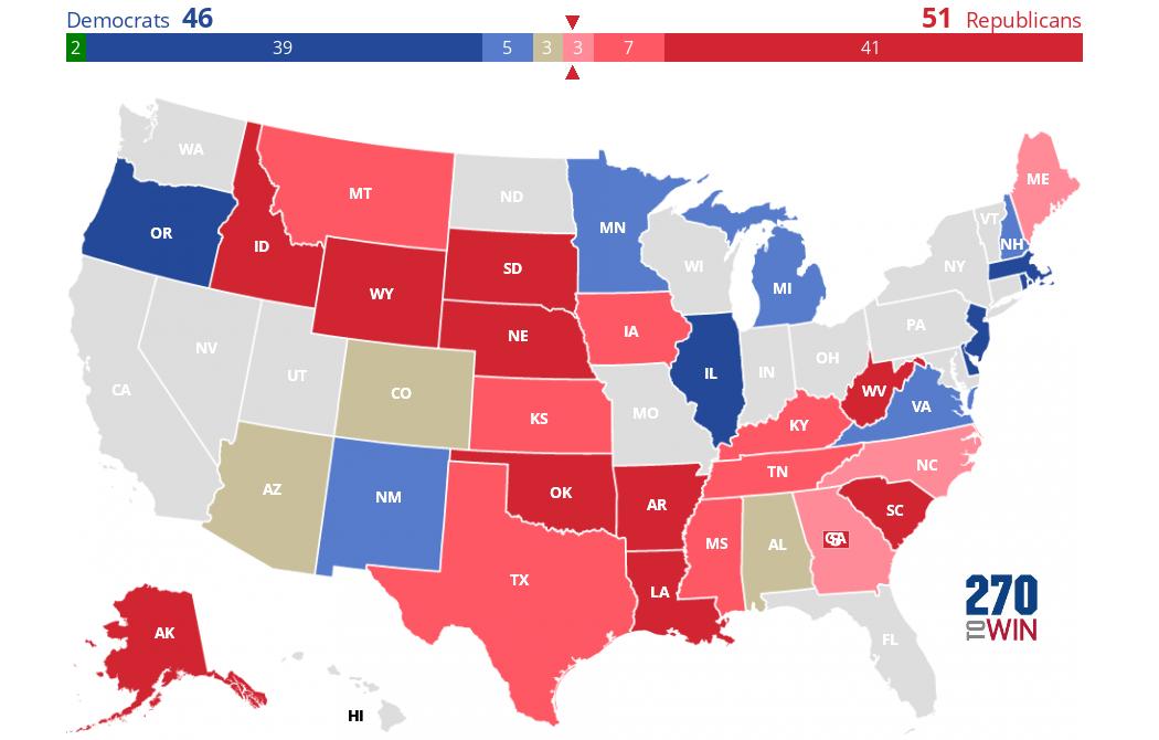 2020 Senate Calendar 2020 Senate Election Forecast Maps