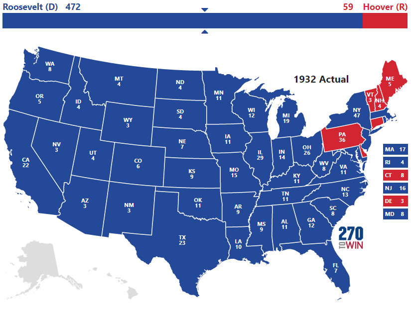 Presidential Election of 1932