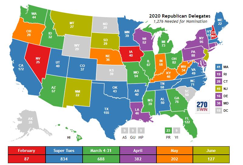 2020 Republican Presidential Nomination