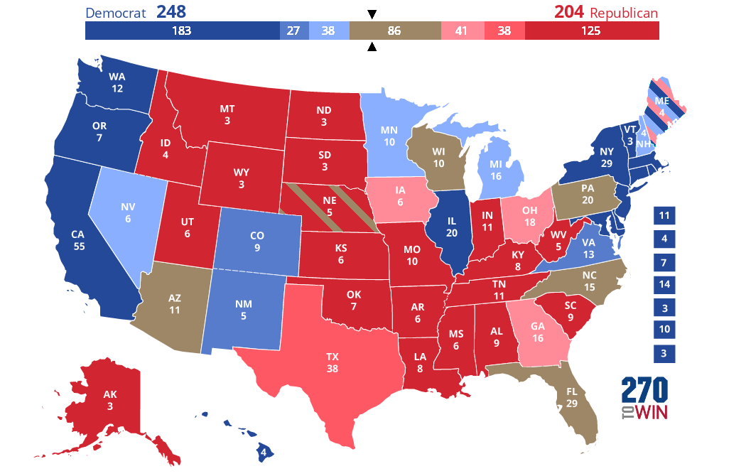 2020 Presidential Election Interactive Map