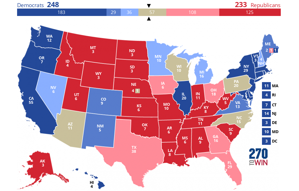Crystal Ball 2020 Electoral College