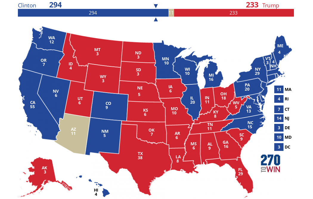 Let39s See Your Presidential Election Map Prediction  Page