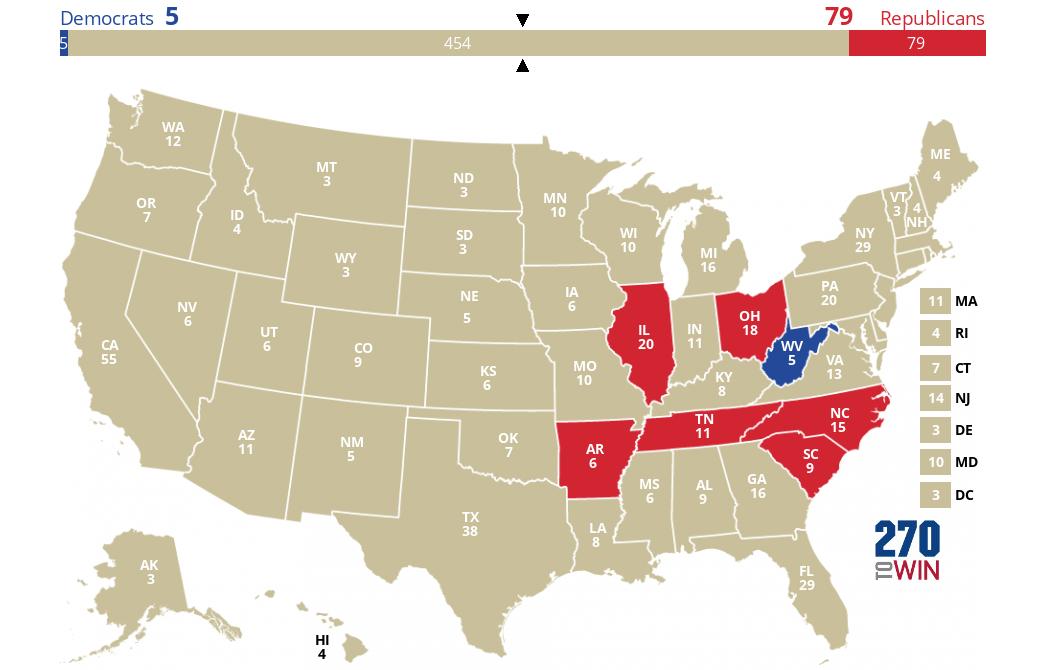 270 to win senate map 2016