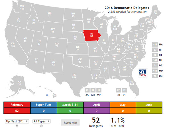 How Many Delegates Per State Map.Delegate Maps Now Available Sort By Date Type Allocation Method