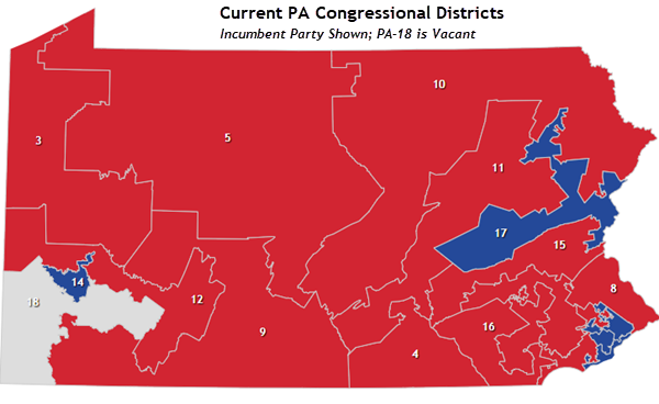 current map seats held by party from our interactive house map choose pennsylvania in the drop down