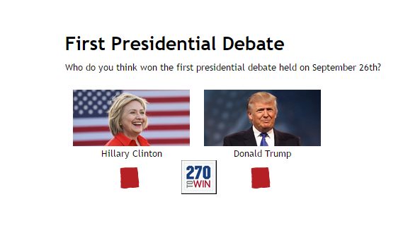 who won the debate - photo #40