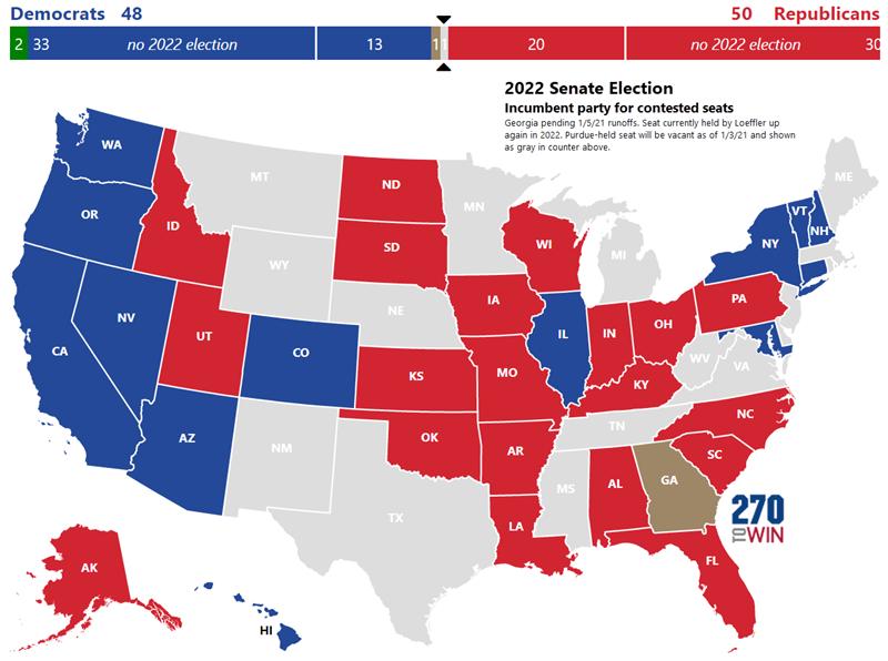 Pennsylvania 2022 Election Calendar.2022 Interactive Senate Map Is Live