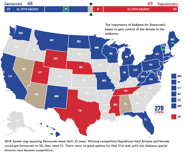 Us Senate Map - 2015 us election map