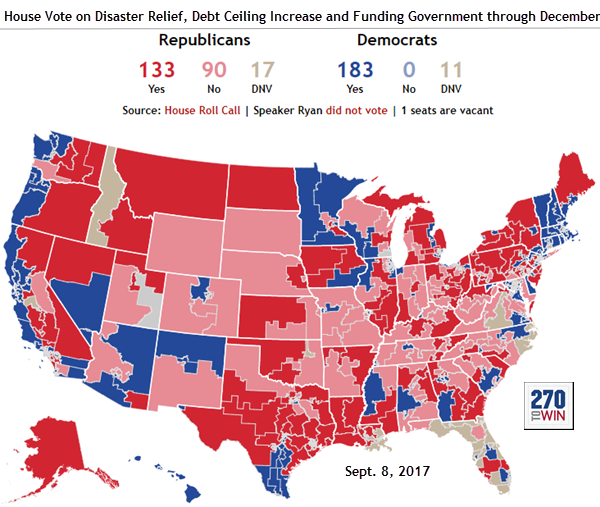 Election News Polls And Results - Map on how the us voted by individual vote